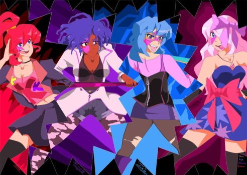 Jem and the Holograms by Artfrog75