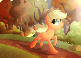 Running Of The Leaves by Left2Fail