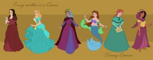 Disney Queens - All together by Blossom-Disneyaholic