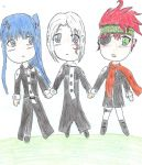 Three best friends? by dgraymanlover17