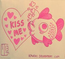 Kiss Me by Kaweki