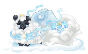 Friends of the winter lands by SirKittenpaws