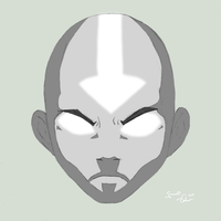 The Avatar disapproves by mrTwisby