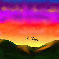 Three Geese by katiejo911