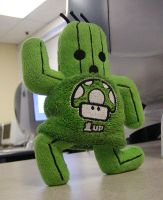 1-Up Cactuar by Houseof1000needles