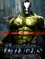 Video Game Avengers Rick Hulk Taylor Fan Art 2.0 by rs2studios