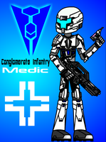 Starshock :Conglomerate Soldier ( Medic ) by henrykhaung