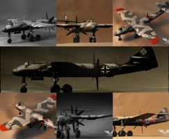 Blohm+Voss BV P.195 Collage by Brandzai