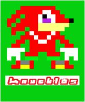 8-bit knuckles by SonicOfTheHedge