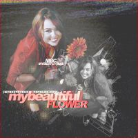 my beautiful'flower by veritoeditions