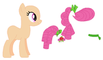Young Apple Rose Base 02 by SelenaEde