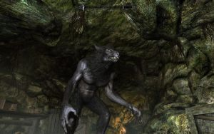 Skyrim werewolf 1 by Wire-Fox