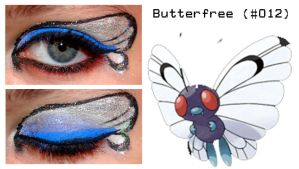 PokeMakeup 012 Butterfree by nazzara