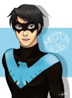 Nightwing by chocowaffle
