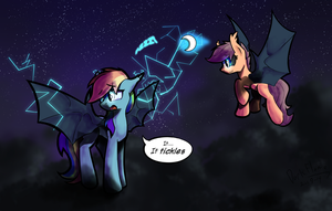 C: Spreading the bat-love! by DarkFlame75