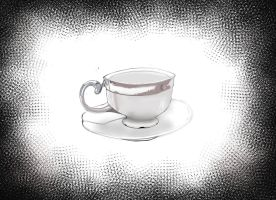 2014 object drawing 1 Tea Cup by ChazzVC