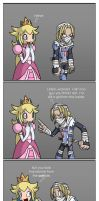 Peach and Sheik by ColdSandwich