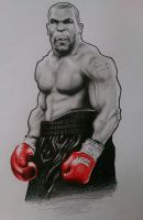 Iron Mike Tyson Caricature by JonARTon