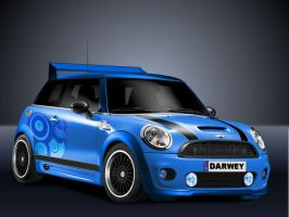 Mini Cooper by Darwey