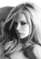 Avril Lavigne by Silver-Fate
