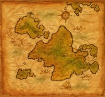 WEST Trade Winds Map by scalawags