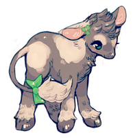 clover the calf by foxtribe
