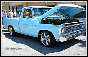 One Sweet Ford Truck by StallionDesigns