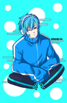 Kagerou Project Ene Gender bender by Irenechii