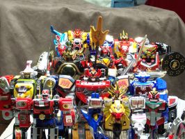 Megazord Fleet - UPDATED by tasakeru828
