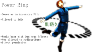 {MMD DL} Power Ring by Muxyo