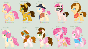 :DTA: Cheese Pie Shipping Adopts :CLOSED: by HopeForTheFuture13