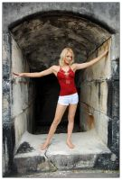 Samantha - red top 3 by wildplaces