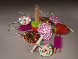 Polymer Clay Ear Nibbles by HappyThawts