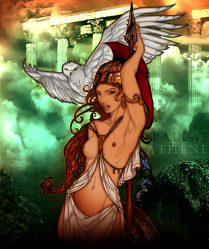 Pallas Athene by stacemyster