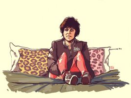 Julian Casablancas by bleueapple