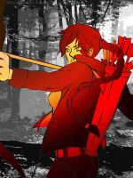 Katniss the Girl on Fire by broken-with-roses