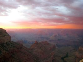Fire in the Canyon by LesleyanneD