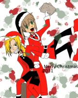 Merry Christmas 2011 by UniqueInQ