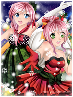 .: Christmas Belles :. by Mielluu