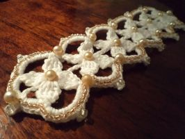 Crocheted Sweet Lolly Necklace by LordMearln