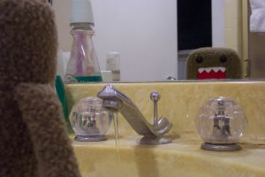 Domo-kun is going on a date. by ryanmonkey