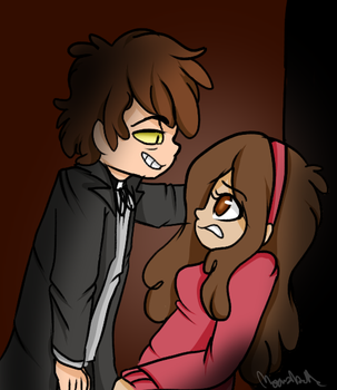 Bipper and Mabel by Moonabelle