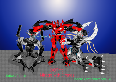 DOTM: Mirage with Dreads by rysenok