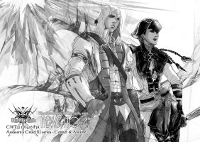 AC3: Connor and Aveline 2 by BloodBlueRain