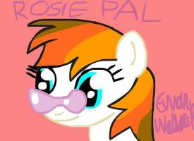 Analyst Drawing: Rosie Pal by BritishBronyReviewer