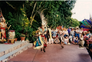 Aztec Dancers at EPCOT by mouselady