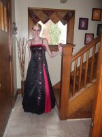 Prom: before i went for pics by wittlecabbage