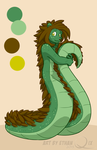 Character Ref: Carl the Hedgesnake by hamstap85