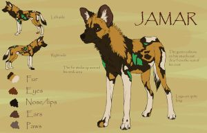 Jamar reference sheet by PrinzeBurnzo