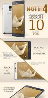 Galaxy Note 4 | 10 PSDs by abdelrahman